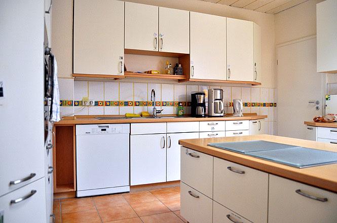 Bild von der Küche des autismuszentrum bottrop im Ruhrgebiet. Ihr Ansprechpartner für ASS, Asperger, Atypischer, frühkindlicher Autismus, Teacch.