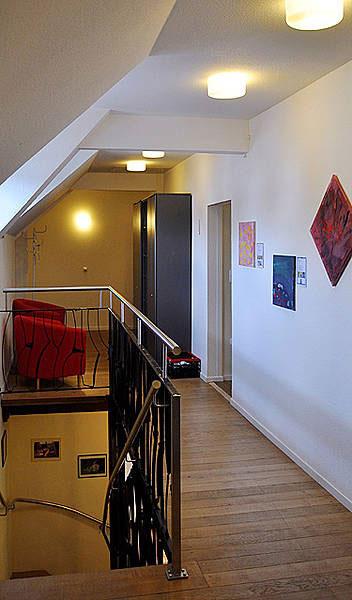 Bild vom Inneren, Obergeschoss des autismuszentrum bottrop im Ruhrgebiet. Ihr Ansprechpartner für ASS, Asperger, Atypischer, frühkindlicher Autismus, Teacch.