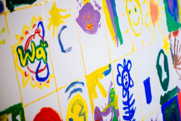 Hier sehen Sie ein gemaltes Bild vom Autismus Zentrum Bottrop für das Asperger Syndrom
